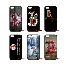 Boston Red Sox Baseball Logo For iPod Touch iPhone 4 4S 5 5S 5C SE 6 6S 7 Plus Samung Galaxy A3 A5 J3 J5 J7 2016 2017 Case Cover(China)