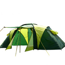 Family Tents 4 Person Big Horn Camping Hunting Tent with Portable Pack