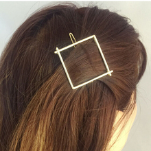 Timlee H017 Free shipping Vintage Beautiful Square Metal Hair Sticks Hair Clip hair accessory wholesale
