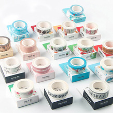 DIY Cute Kawaii Cartoon Decorative Washi Tape Lovely Lace Grid Tape For Home Decoration Scrapbooking Free Shipping 3607