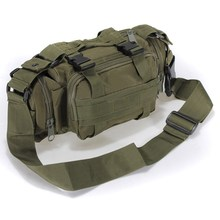 Canvas Molle Utility Camouflage Military Tactical Waist Bags Assault Backpack Mountain Bicycle Bike Outdoor Messager bag