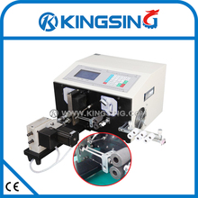 PLC Automatic Wire/Cable /Line Stripping Twisting Machine KS-09W + Free shipping DHL air express(door to door service)
