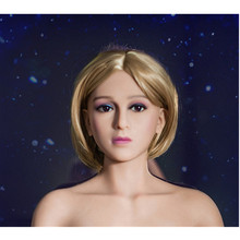 Solid Silicone Sex Doll Head Top Quality Mannequin Chinese Love Dolls Head With Real Oral Sex Products From Sexy Shop