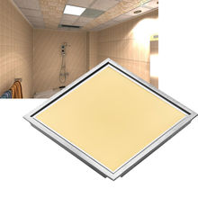 2Pcs Square LED Panel Light 300X300 12W Cold Warm White AC110-240V Aluminum Frame Faceplate Ceiling Lamp Home Office Decoration