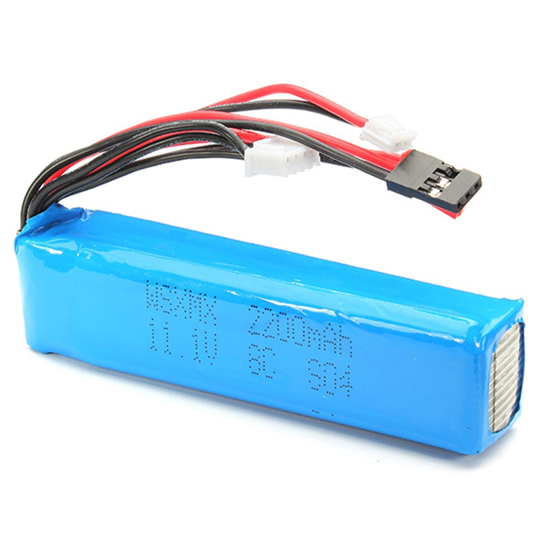 Hot Sale Super Deal WSX-S04 Remote Controll Lipo Battery 11.1V 2200mAh For KDS JR FS Walkera(China)