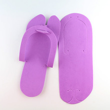 TEXU 12xPair indoor Disposable Slippers,Pedicure Salon holtel travel usage Foot Spas Soft Foam Flip Flops women slides