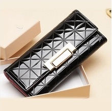 New Women Wallets Women's Purse Long Design Brand Wallet Change Purses Travel Folding Ladies' Wallets Clutch Purses A008