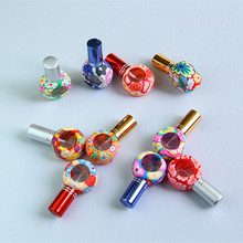100pcs/Lot Hot Sales Pump 8ml Clay Glass Perfume Bottle Travel Polymer Clay Fimo Empty Spray Scent Bottle Pump Case Random Color