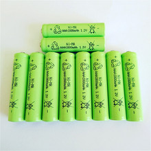 10 PCS/LOT  aaa battery  NightKonic 1.2V NI-MH AAA Rechargeable Battery