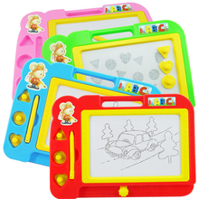 Hot Children Toys Magnetic Black and White Drawing Board WordPad Learning Supplies Infant Teaching Aids Baby Kids Fun Game Gifts(China)