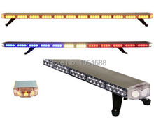 United Safe free shipping ESM35315 low profile GEN III 1 Watt super bright LED Warning Lightbar(amber/blue/red/white)
