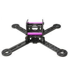 Realacc KT100 100mm Carbon Fiber Frame Kit For RC Quadcopter Multirotor FPV Camera Drone X Type Frame Accessories Purple