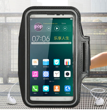 Exyuan Cell Phone Gym Running Arm band Pouch cycling waterproof Arm Belt SportFor  Motorola Moto E 2nd Gen 2015 #2