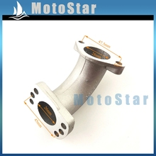 PE 24 26 28 VM24 VM26 Carburetor Mainfold Intake Pipe Inlet For 150cc 155cc 160cc YX Zongshen Engine Pit Dirt Bike Motorcycle