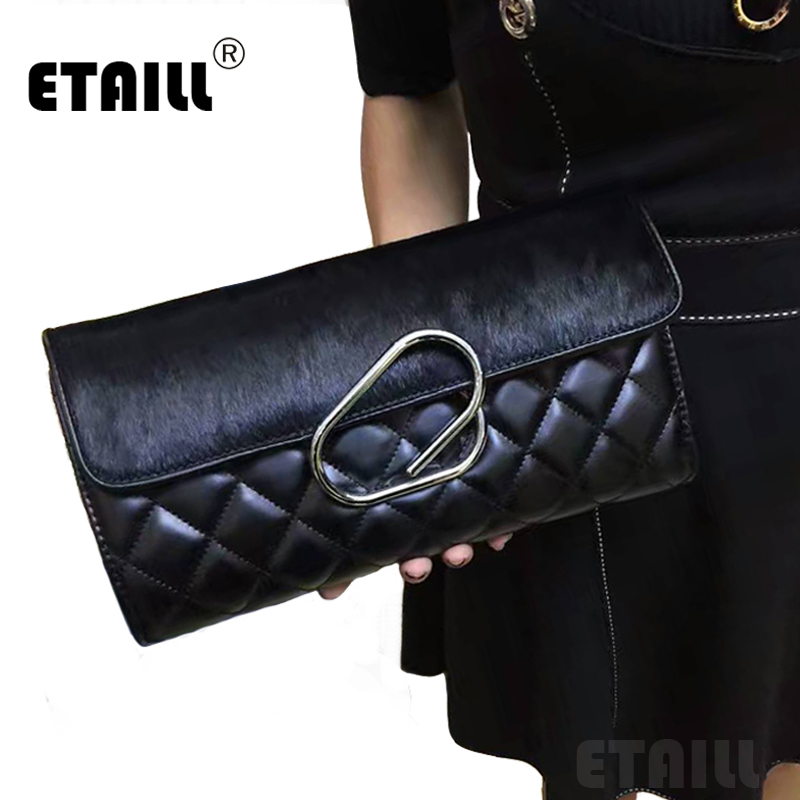 Diamond Lattice Horsehair Designer High Quality Lady Quilted Plaid Shoulder Crossbody Bags Leather Brand Chain Messenger Bag<br><br>Aliexpress