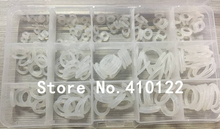 Silicone Rubber O Ring O-Ring Washer Seals Watertightness Assortment Different Size With Plactic Box Kit