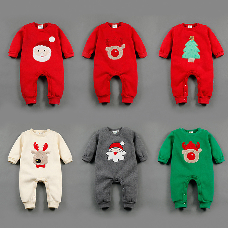 2016 Christmas Baby Clothes Santa Claus Costume for Newborn Rompers Thanksgiving Gift Leotard Crawling Clothe<br><br>Aliexpress