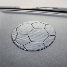 Car Styling Football Dashboard Sticky For Pad Anti-slip Mat GPS Cell Phone Key Holders Easy Cleaning High Temperature Resistant(China)