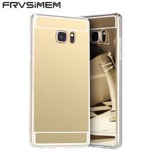 Plating Mirror Case Soft Cover For Samsung Galaxy J1 J3 Core Grand J5 J7 Prime A3 A5 A7 2017 2016 S3 S4 S5 S6 S7 edge S8 Plus