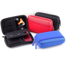 Waterproof USB Cable Storage Bag Organizer Hard Drive Earphone Flash Drives Digital Gadget Devices Organizador Bags Case(China)