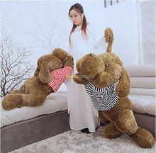 Fancytrader 1 pc 47'' / 120cm Giant Big Stuffed Soft Plush Giant Lying Dog Toy, 2 Colors Available, Free Shipping FT50738