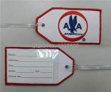 Embroidered American Airlines 1962 AA Travel Bag Tag(China)