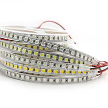 5m 600 LED strip DC 12V 5050 SMD Highlighted flexible light 120 led/m waterproof LED strip warm white RGB lamp Tape xmas string(China)