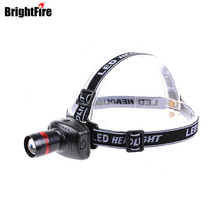 H1 Hot selling Mini LED Headlamp headlight 3 Mode Energy Saving Outdoor Sports Camping Fishing Head Lamp LED Flashlights Black