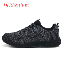Women's Running Shoes Men's Air Mesh Breathable Sneakers Sport Shoes Women Mesh Athletic Outdoor Chusion Shoe Plus Size