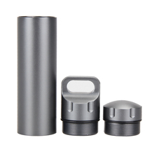 135MM EDC Survival Waterproof Pill/Match Case Box Aluminum alloy Container Emergency Kits Outdoor Travel Tools