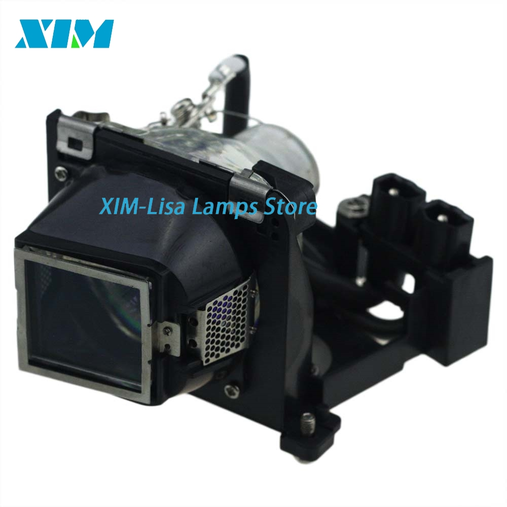 Brand NEW 310-7522 / 725-10092 Replacement Projector Lamp with Housing for DELL 1200MP / 1201MP<br>