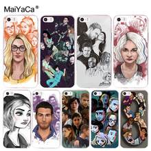 MaiYaCa Network TV series Sense8 Plastic Phone Accessories Case for Apple iPhone 8 7 6 6S Plus X 5 5S SE 5C 4 4S Mobile Cases(China)