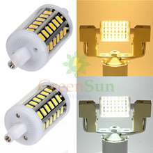 R7S 5W 78mm 5736 SMD Blub Aluminum PCB Spotlight Light Halogen Replacement Bulb Horizontal Plug LED Flood Light Lamp(China)