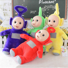 Aeruiy  4pcs/set 20cm cute plush Authentic Teletubbies toy stuffed doll with high quality,Christmas & birthday gift for children