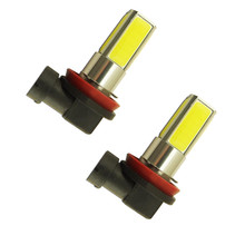 Brand New 2pcs 6000K 12 V 10 W 2000LM Car High Power H8 H11 COB LED Fog Driving Headlight Light Lamp Bulb White