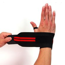 1 pc Sport Wrist Wrap Bandage Hand Support Wristband Protector Sweatband Gym Strap Sport Brace(China)