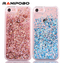 Buy Crystal Clear Cases iphone 8 Plus Dynamic Liquid Glitter Sand Quicksand Starphone Back Cover iPhone 5C for $1.48 in AliExpress store