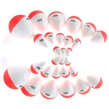 Hot Sale 14Pcs/Set Polystyrene Fishing Floats with Sticks Professional Fish Float Outdoor Sea Fishing Accessory