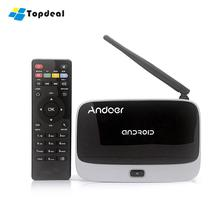 CS-918T 2G/16G Android 4.4 TV Box RK3128 Quad Core Quad ARM Cortex A7 WiFi BT4.0 DLNA OTG HD 1080P Media Player(China)