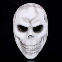 Resin Terrorist Skull Mask Movie Masks Mascara Terror HarvestDay2 Party Masquerade Fancy Costume Halloween Christmas Children