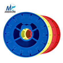 JIADIAONI 6pcs Winding Board Fishing Line Tackle Accessories Foam Board Trace Wire Swivel Tackle Fishing Box Tools New(China)