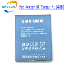 QiAN SiMAi 1PCS New high quality BL-96 BL 96 battery For Newsmy NX Newman N1 NM860 mobile phone+track code(China)