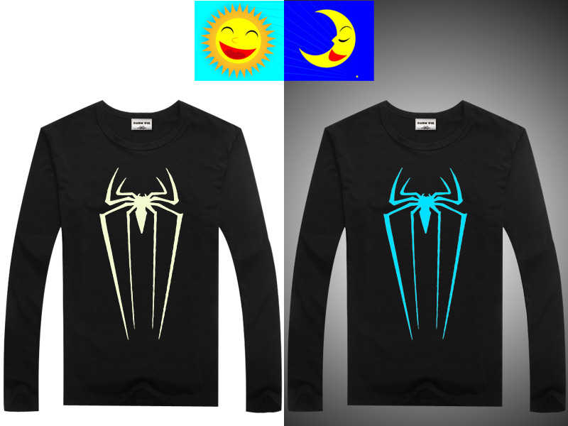 Luminous Long Sleeve T-Shirt For Boys T Shirt Batman Christmas Teen Girl Tops Size 10 11 12 14 years Teenage Toddler Boy Tshirts 8