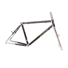 Reynolds 525 steel MTB Bike frame 26 inch DIY mountain bike frame touring bicycle frame 17.5 inch(China)