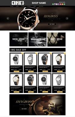 时尚手表 高级模板k038