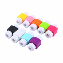 100pcs/packs Cable Winder For iPhone 4 4s 5 5s 6 6s 6Plus 6s Plus 7 7Plus USB Cable Saver Protector wire Organizer Free Shipping