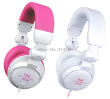 Folding Fully enclosed Design ISK HP-966  Computer monitor headphones headset network K song recording monitor headphone
