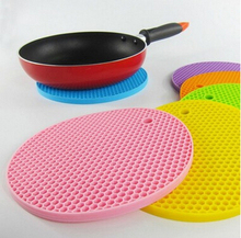 kitchen bowls potholders/pot holder placemat silicone coasters cup mat,anti-slip mat anti-scalding heat mat
