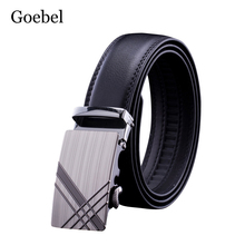 Buy Goebel Man PU Leather Belts Fashion Alloy Automatic Buckle Business Male Belts Solid Color Practical Men Belts for $3.99 in AliExpress store