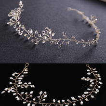 Soft Crowns with Copper Wire Making Handmade Bridal Hair Accessories Tiara Crystal Women Rhinestone Pageant Tiaras and Crowns